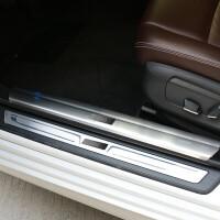 宝马5系改装汽车装饰配件门槛条520li525li528li车身侧裙后杠饰条