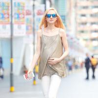 孕妇防辐射服孕妇装防辐射衣服吊带背心围裙内穿大码上衣四季
