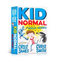 【全店300减100】麻瓜小子2和痞子英雄 进口英文原版Kid Normal and the Rogue Heroes