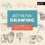 【预订】Just for Fun: Drawing: More Than 100 Fun and Simple Ste