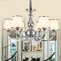 现代吊灯水晶奢华大气客厅时尚欧式现代简约卧室个性创意餐厅灯n6y
