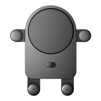 20190528185225572小度智能语音车载支架手机蓝牙汽车导航支架车用车内 标准版-黑灰