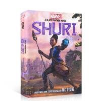 【全店300减100】英文原版 Shuri: A Black Panther Novel, Volume 1 中小学生青