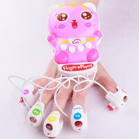 儿童创意玩具 宝宝音乐手指钢琴 益智早教故事琴 卡通多功能琴