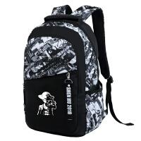初中生男孩书包中学生男初一二三双肩包青少年校园高中生电脑背包