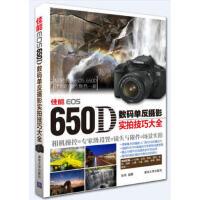 【正版新书】佳能EOS 650D数码单反摄影实拍技巧大全:相机操控+专家级设置+镜头与附件+场景实拍 张炜 清华大学出