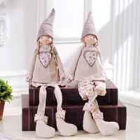 家居可爱摆件创意个性田园小装饰摆设饰品布偶工艺品大号