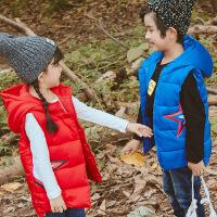 花样童依 儿童马甲2018冬季新款韩版女童棉马甲男童加厚背心中小童坎肩外穿
