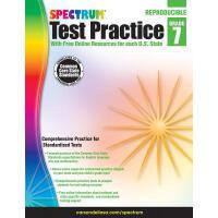 Spectrum Test Practice, Grade 7 英文原版 Spectrum 考试强化训练,7年级