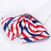 新款红白女领花学院风飘带韩版水手服领结蝴蝶结领带