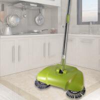 手推式用电扫地机家用手持无电吸尘器懒人扫把 地板毛发清洁器