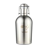 不锈钢酒壶大容量家用随身便携户外水壶