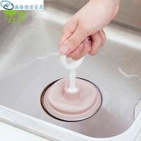 厨房水槽管道疏通器 家用毛发堵塞清理皮搋子通下水道工具