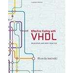 【预订】Effective Coding with VHDL: Principles and Best Practic