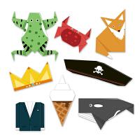 Mideer弥鹿 儿童趣味折纸套装亲子互动DIY动手折纸模型周岁玩具
