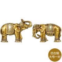 欧式大象头挂件立体墙饰墙壁装饰品复古树脂创意家居客厅壁挂壁饰