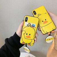 小黄鸭苹果x手机壳iphone xs max保护套6/6s/7/8/plus软硅胶防摔iphon iPhone x-招