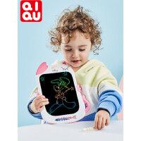 琪趣儿童液晶手写板涂鸦家用宝宝电子光能写字板小黑板绘画画板