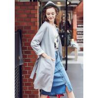[86B-217]新款女士风衣外套女装风衣0.50