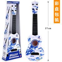 ?儿童吉他玩具可弹奏初学仿真乐器琴男孩女孩宝宝小吉它尤克里里?