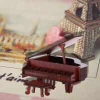 创意家居房间装饰品摆件钢琴模型迷你乐器毕业生日礼物