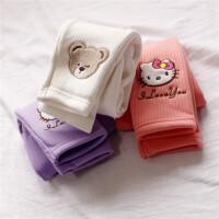 复合羊胎绒 0-1-2-3-4岁宝宝打底裤 婴儿女童加绒打底长裤可开档