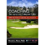 【预订】Coaching the Junior and Collegiate Golfer: Certificatio