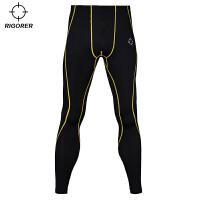 准者新款运动健身裤男 篮球打底训练修身裤 速干压缩长裤YSK-001
