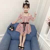童装夏装新款宝宝连衣裙儿童吊带裙子洋气夏季短袖女童公主裙