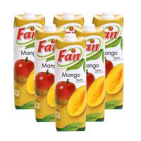 【中粮海外直采】Fan纯果芬芒果汁饮料1L*6(塞浦路斯进口 盒)