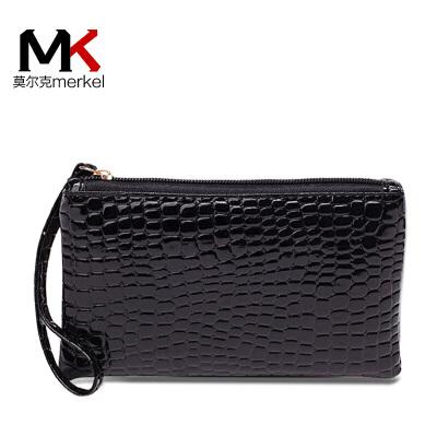 【买1送同款】新款女零钱包小手包韩版时尚鳄鱼纹手腕包迷你手拿包买一送一送同款零钱包