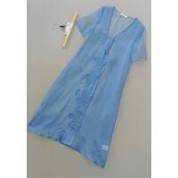 谷[T119-300]专柜品牌正品真丝女士打底衫女装雪纺衫0.09KG
