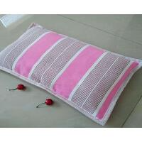 加厚老粗布凉席布儿童枕头荞麦壳枕芯婴儿宝宝枕头枕头含芯
