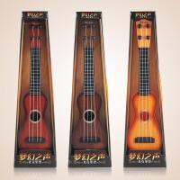 ?儿童玩具批发男女孩新款四弦吉他仿真可弹奏吉他儿童礼物? 6_古典吉他 38cm