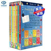英文原版 糊涂女佣8册套装 Amelia Bedelia 8-Book Box Set 小学生课外英语趣味阅读教材 儿童