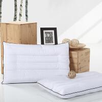 多喜爱家纺长方形单人枕双面枕芯全棉面料学生枕头经典荞麦枕床品