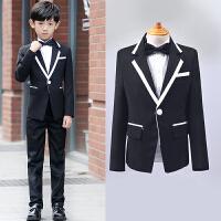 儿童西装礼服男套装花童礼服男童装西装男童小西服修身韩版
