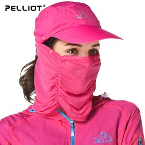 【五一出游特惠】法国PELLIOT/伯希和  户外防晒帽 防紫外线 男女遮阳帽渔夫帽钓鱼帽子骑车帽