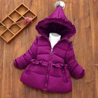 宝宝棉衣女童冬装加厚1-3-5岁儿童装外套婴幼儿羽绒棉袄