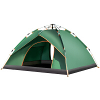全自动帐篷家庭双人2单人野营野外厚款露营户外3-4人二室一厅