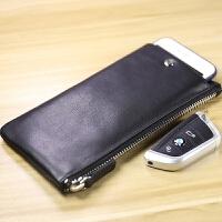 时尚钱包男长款拉链青年日韩个性新款时尚软皮包多功能男士手机包