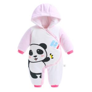 【99选4】歌歌宝贝婴儿连体衣冬季加厚宝宝外出抱衣婴儿爬爬服宝宝连体衣冬
