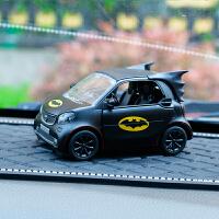 卡通可爱蝙蝠侠摇头汽车摆件公仔创意个性中控台车载车内装饰品 Q版