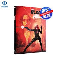 英文原版 漫威 黑寡妇 百科历史图鉴动漫创作设定画册 Marvel's the Black Widow 精装大开本收藏版