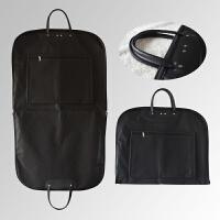 手提款西装袋大衣西服防尘套商务旅行包手提加厚衣服防尘罩收纳袋 100*60cm