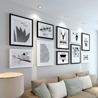 照片墙相框墙客厅简约现代装饰画框相框挂墙创意组合相片墙