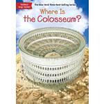 【现货】英文原版Where Is the Colosseum? 斗兽场在哪?who was/is认知系列 中小学生读物