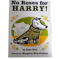 【发顺丰】英文原版 No Roses for Harry! 哈利的花毛衣 Gene Zion(基恩・锡安)小脏狗哈利不