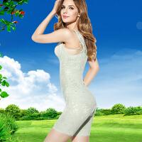 连体塑身衣收脂塑形内衣薄产款后收腹提臀燃脂束身衣美体