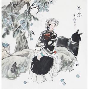 现代画家  杨丽  思念   103